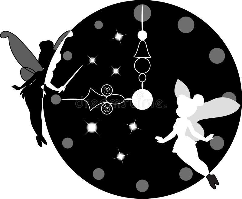 zegarowa magia ilustracji