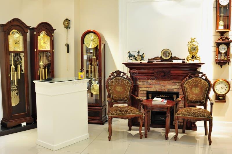 zegarowego wahadła sklep zdjęcie royalty free