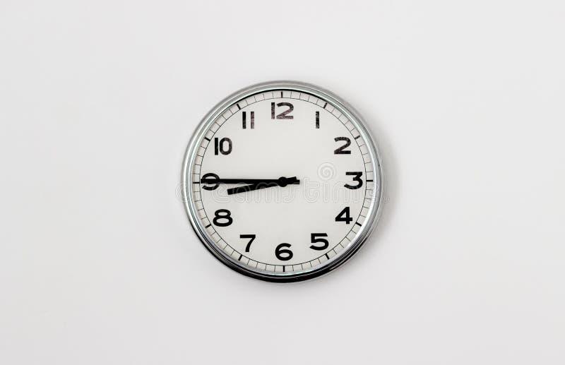 Zegarowy 8:45 zdjęcie stock