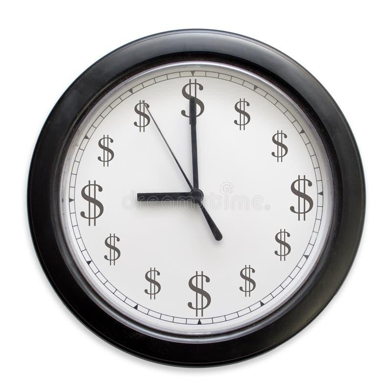 zegarowy pieniądze
