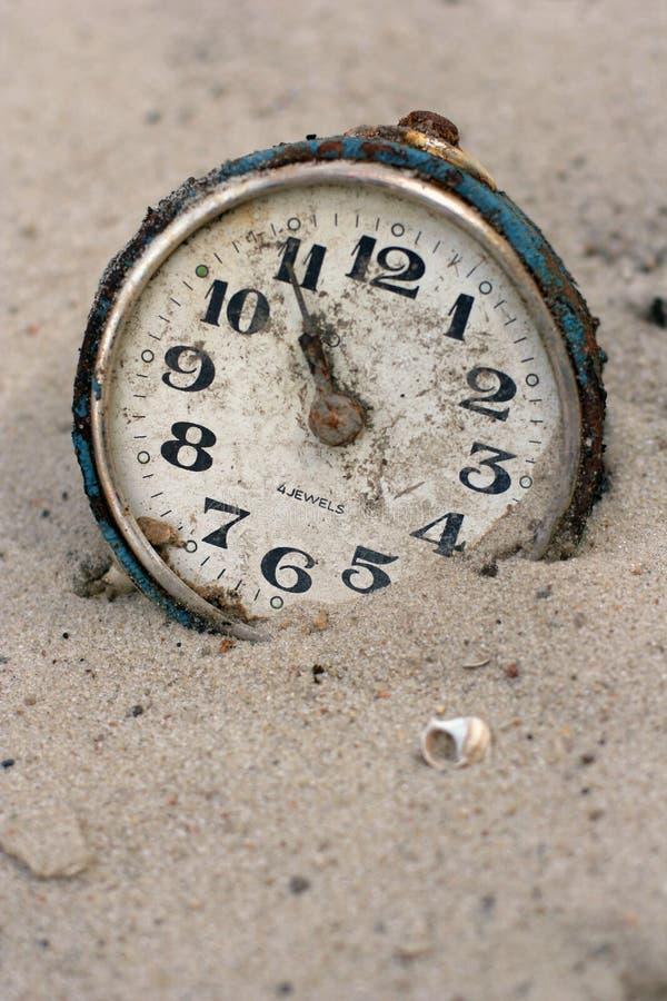 zegarowy stary piasek obrazy royalty free