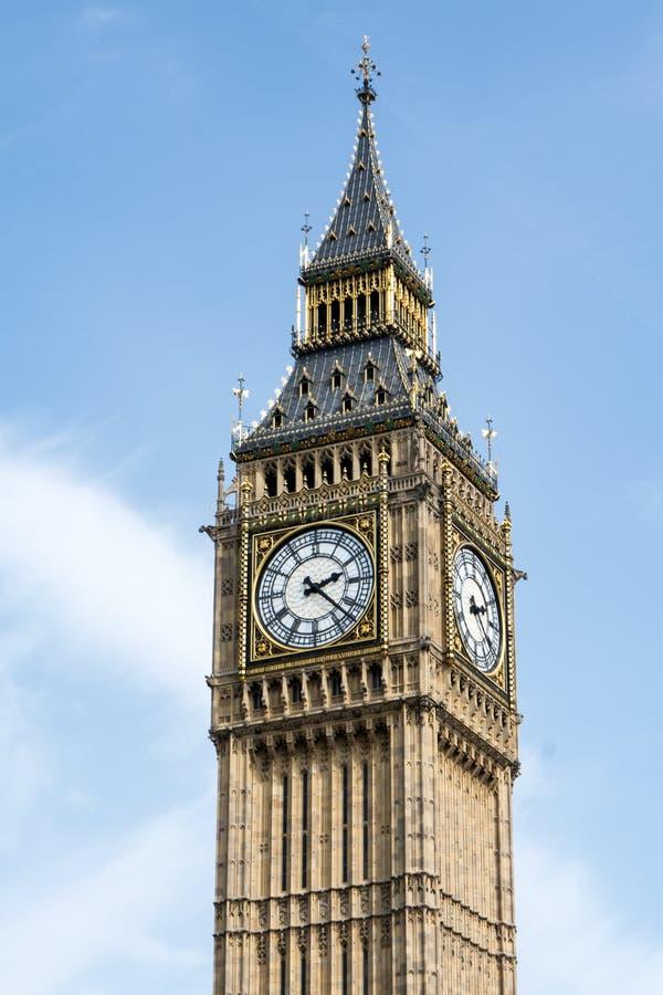 Zegarowy wierza AKA Big Ben obraz royalty free