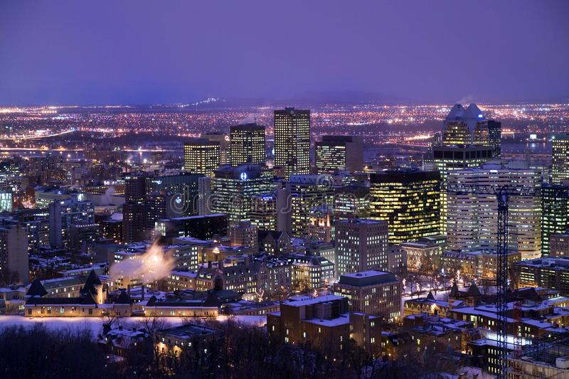 Zegarowy wierza zegarowy wierza w Starym porcie Montreal zdjęcia stock