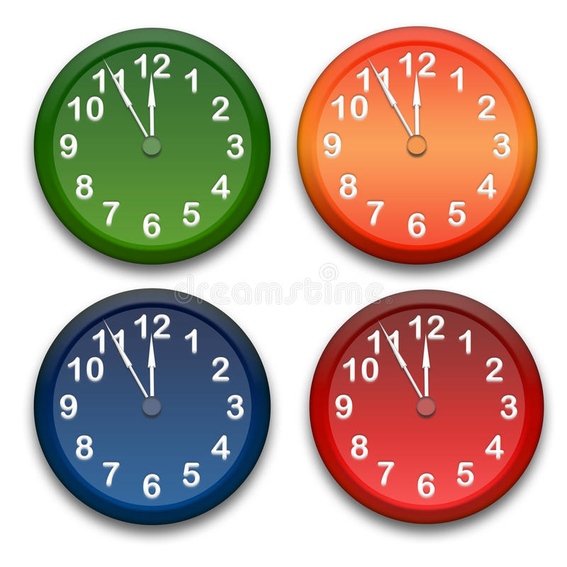 zegary ilustracji