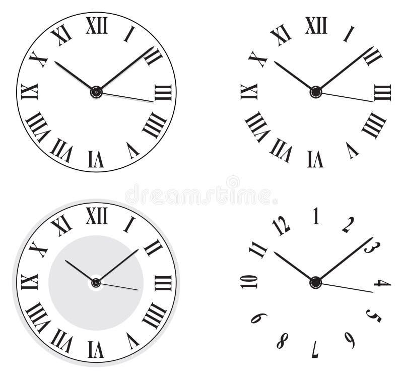 zegary royalty ilustracja