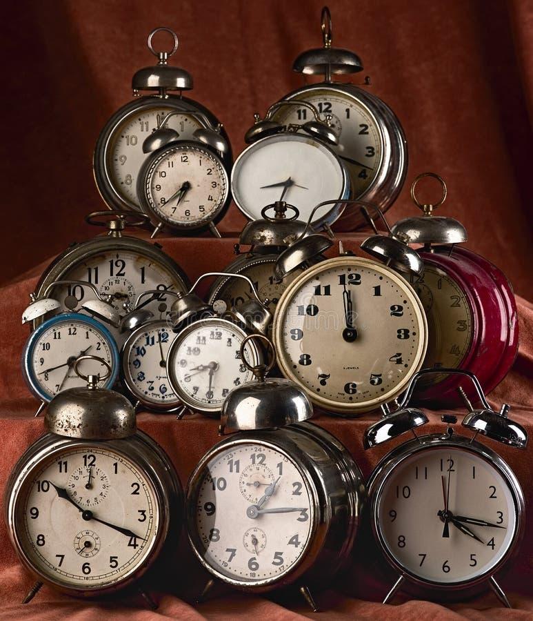 zegary obrazy royalty free
