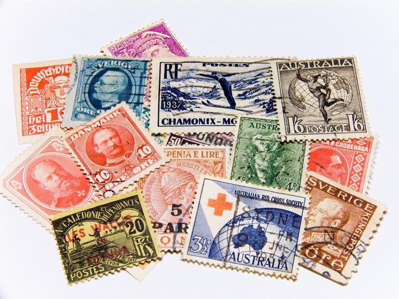 Zegels royalty-vrije stock afbeelding