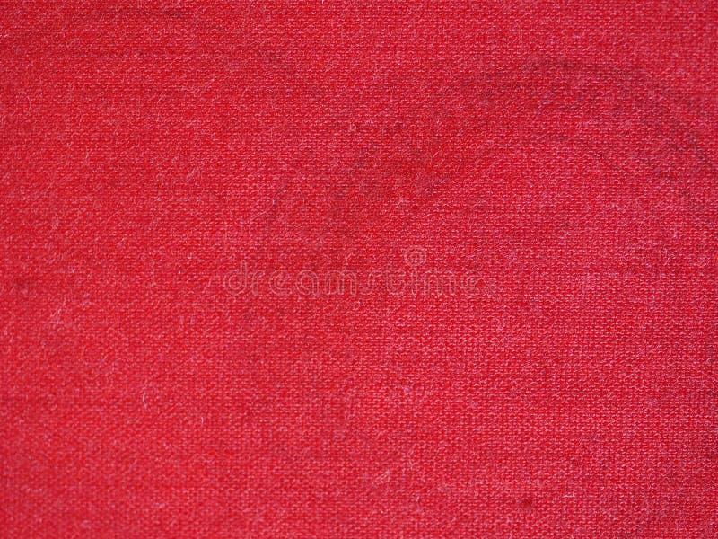 zegelstootkussen met rode inkt royalty-vrije stock foto's