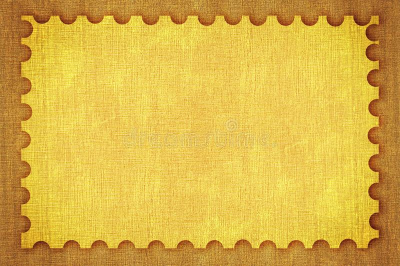 Zegeltextuur royalty-vrije illustratie