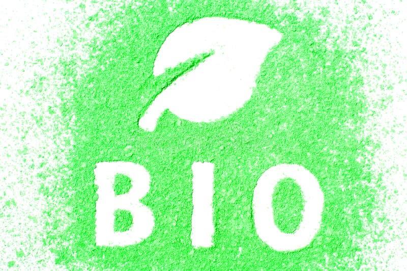 Zeichen BIO lizenzfreie stockfotografie