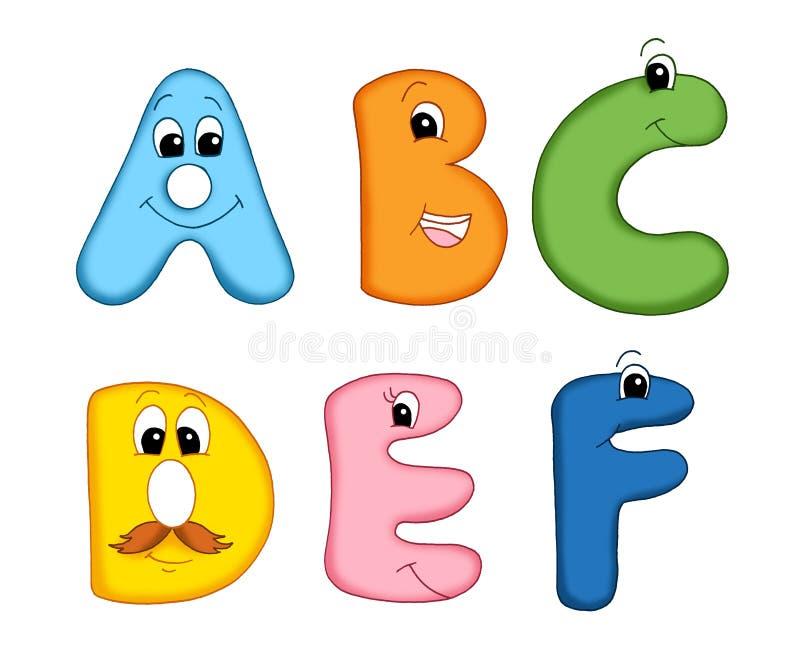 Zeichen des Alphabetes - 1 vektor abbildung