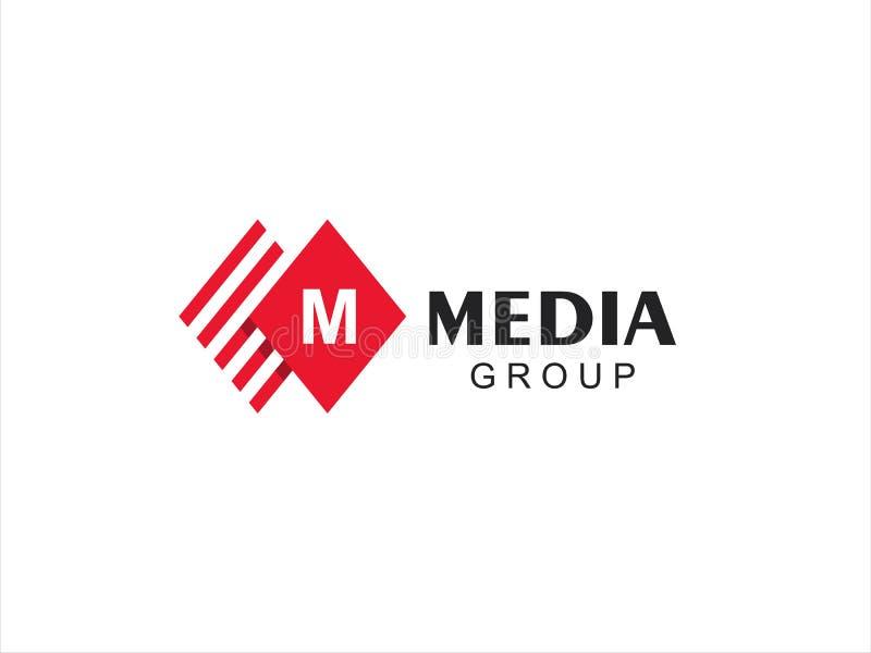 Zeichen des Zeichen-M lizenzfreie abbildung