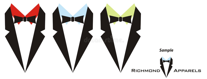 Zeichen für Kleider der Männer vektor abbildung