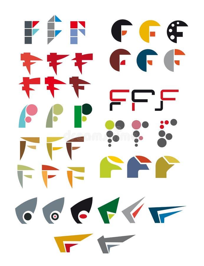 Zeichen F vektor abbildung