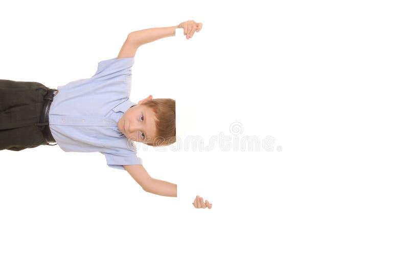 Zeichen-Junge 7 lizenzfreies stockbild