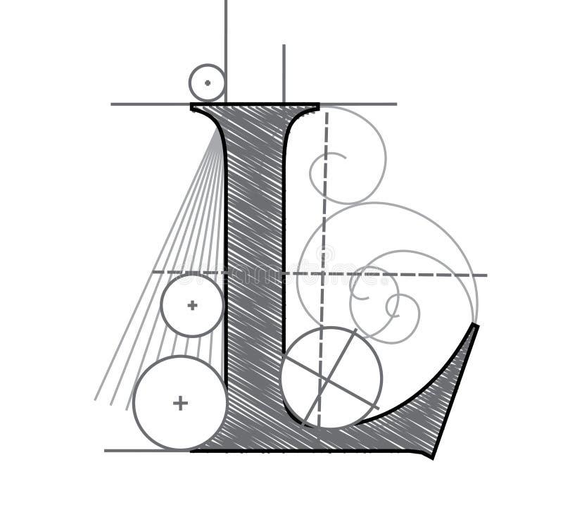 Zeichen L vektor abbildung