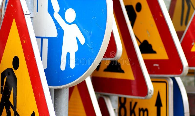 Zeichen, Verkehr lizenzfreies stockbild
