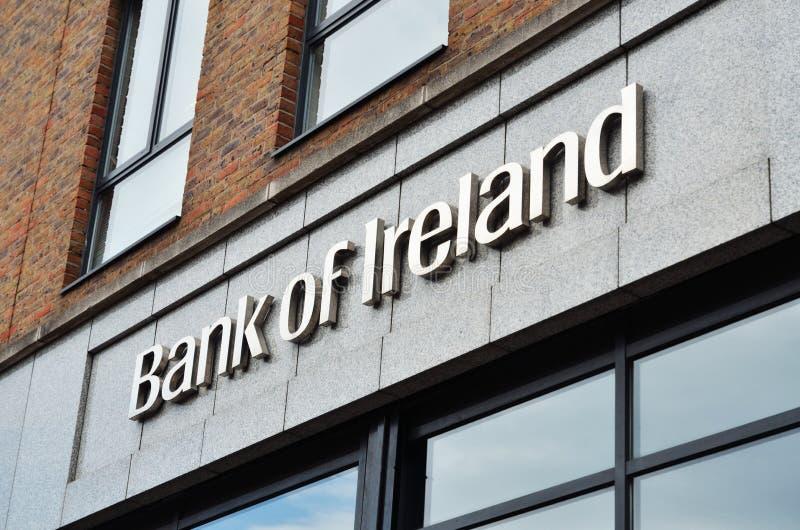 Zeichen von Querneigung von Irland lizenzfreie stockfotografie