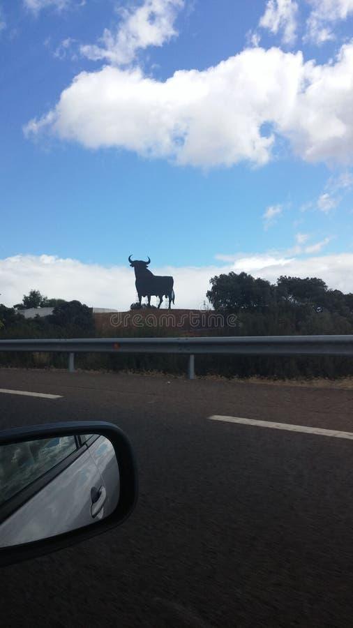 Zeichen von Spanien lizenzfreies stockbild