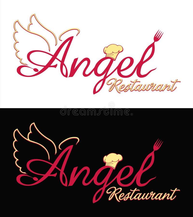 Zeichenauslegung für Ihre Gaststätte lizenzfreies stockbild