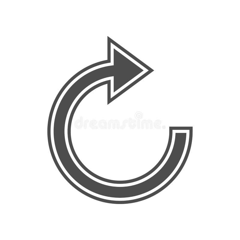 Zeicheneingang zur T?rikone Element von minimalistic f?r bewegliches Konzept und Netz Appsikone Glyph, flache Ikone f?r Websiteen stock abbildung