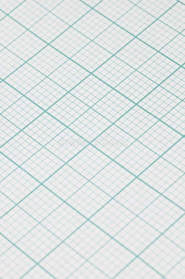 Zeichenpapier mit Maßeinteilung lizenzfreie stockfotos