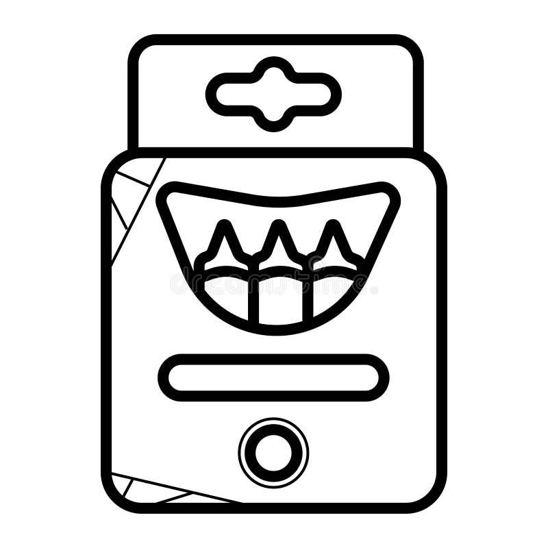 Zeichenstiftikonenvektor lizenzfreie abbildung