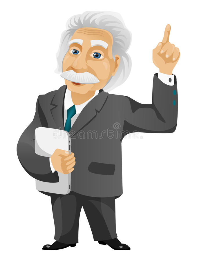 Einstein lizenzfreies stockbild