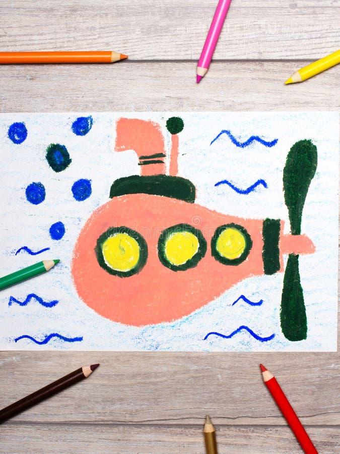 unterwasser bild zeichnen  test 4