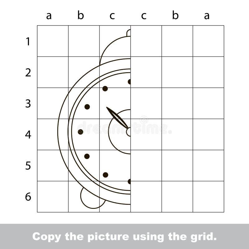 Zeichnendes Tutorium für Kinder vektor abbildung