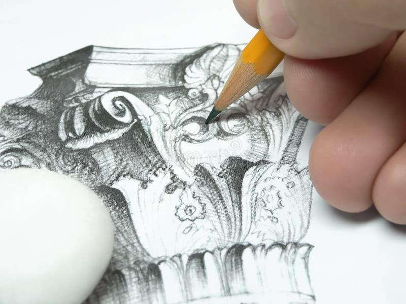 Zeichnung stockbilder