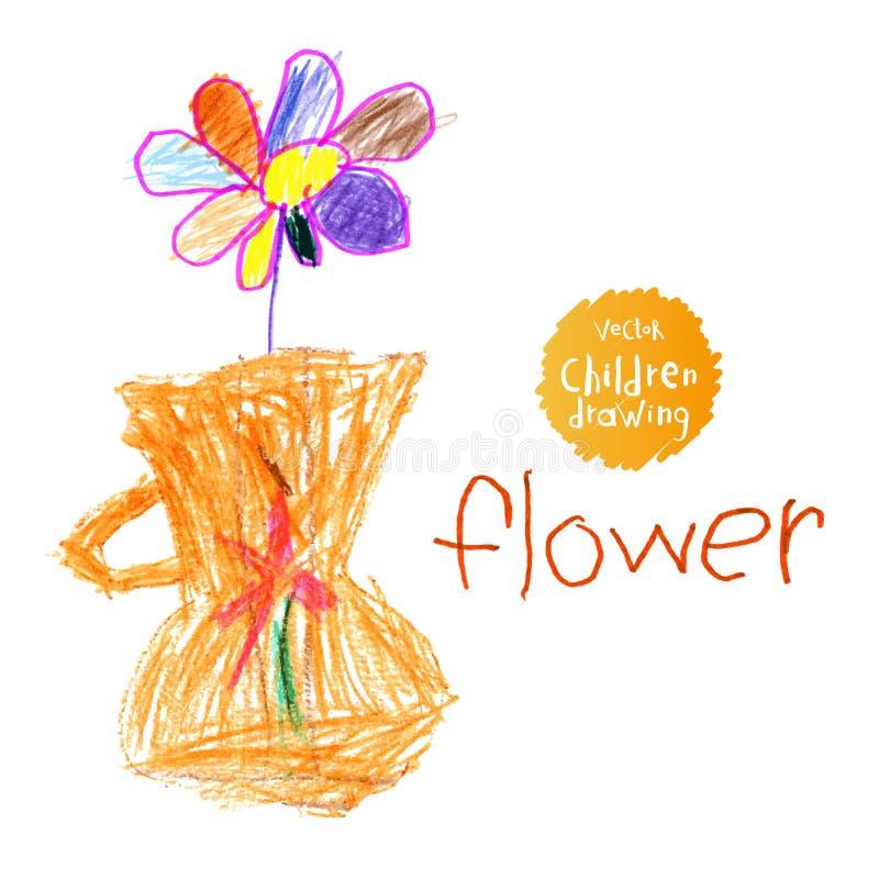 Zeichnung der Kinder lizenzfreie abbildung