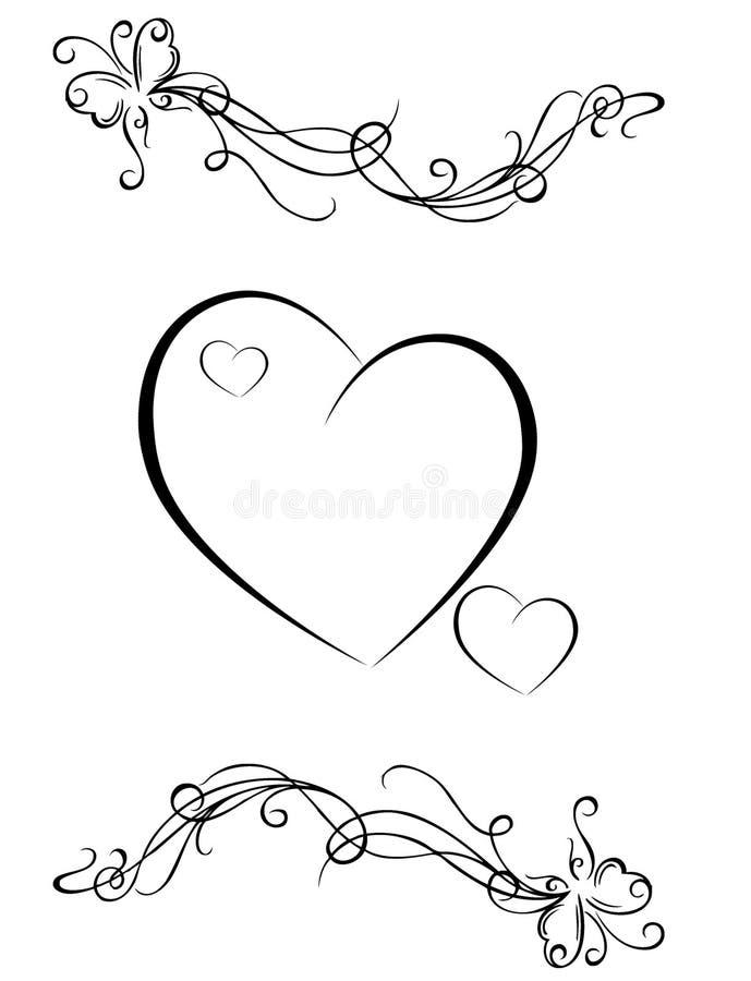 Zeichnungen auf weißem Hintergrund vektor abbildung