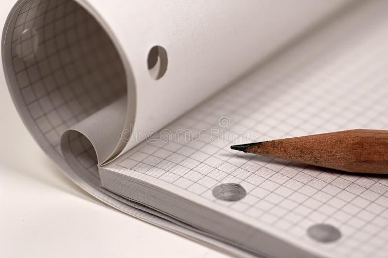 Zeichnungs-Auflage stockfotografie
