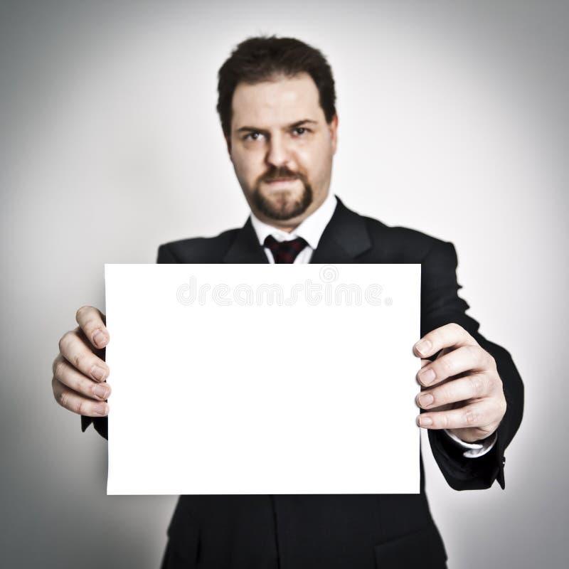 Zeigen des Papiers lizenzfreie stockfotos