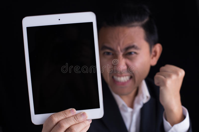 Zeigen Sie iPad lizenzfreie stockfotos