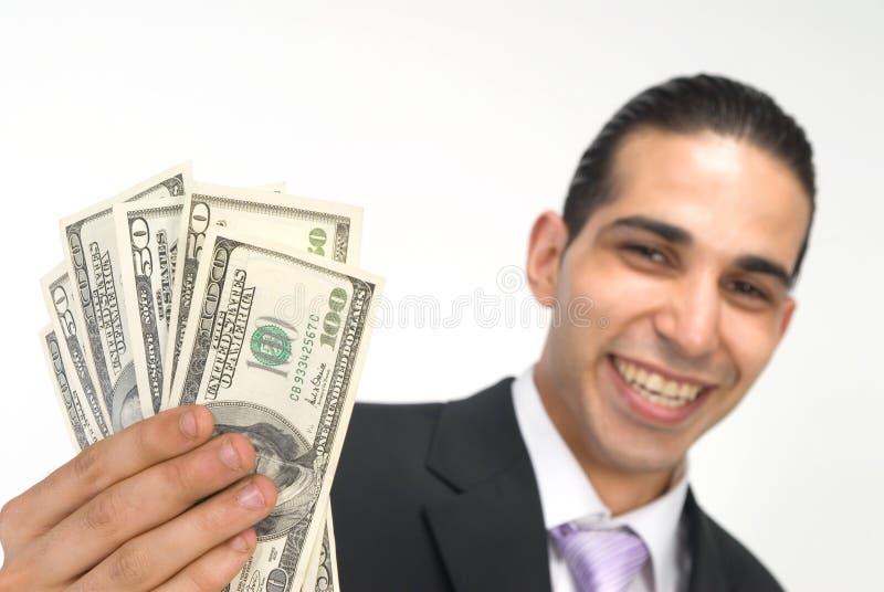 Zeigen Sie mir das Geld lizenzfreie stockfotografie
