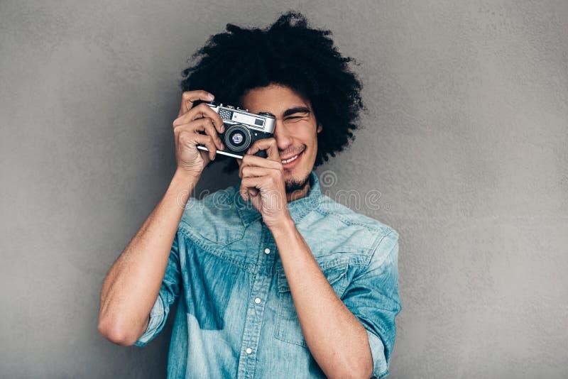 Zeigen Sie mir Ihr bestes Lächeln! lizenzfreie stockfotos