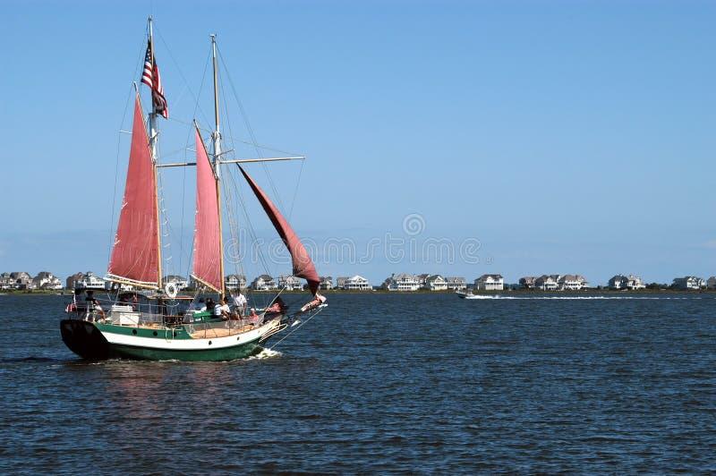 Download Zeilboot stock afbeelding. Afbeelding bestaande uit schil - 290927