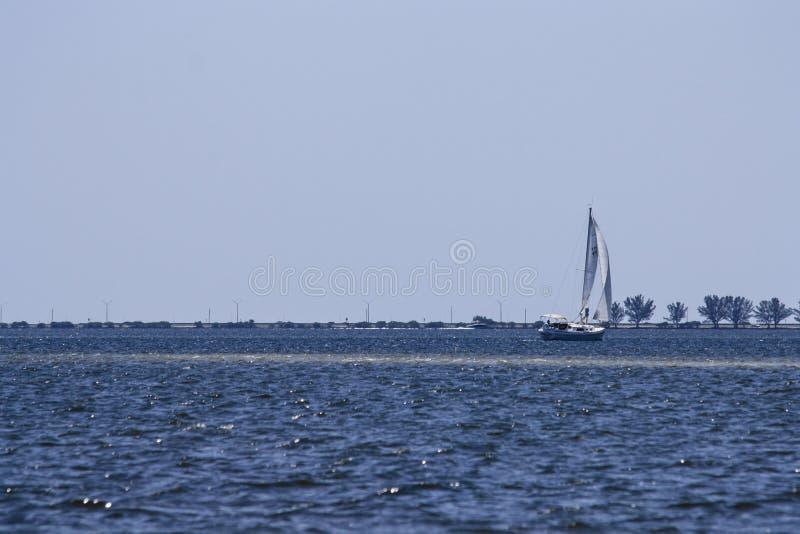 Zeilboot stock foto