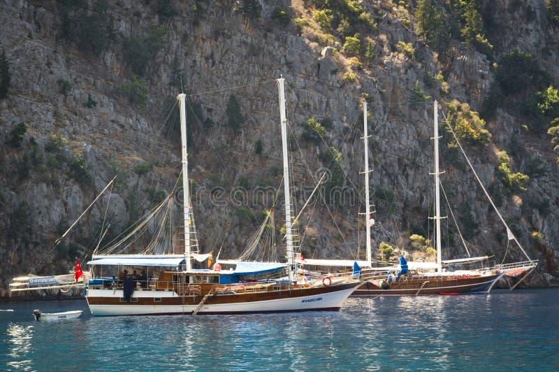 Zeilboot op Water royalty-vrije stock foto