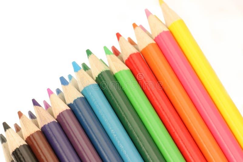 Zeile der Farbe lizenzfreies stockfoto