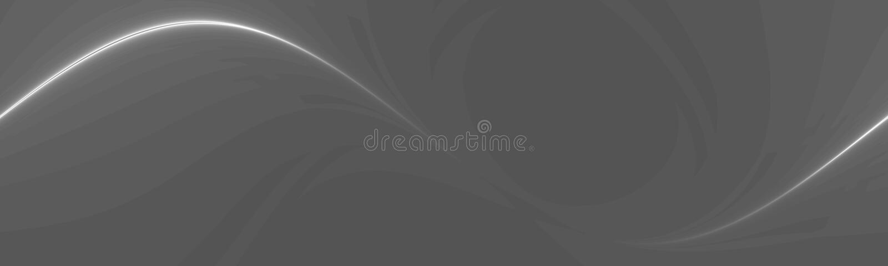 Zeile Kunstfahne stock abbildung