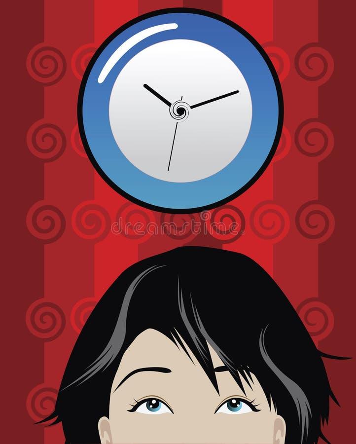 Zeit stock abbildung