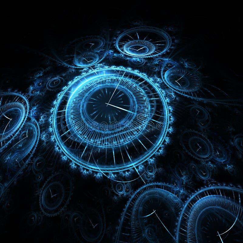 Zeit vektor abbildung