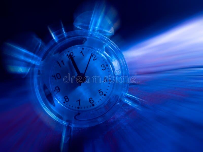 Zeit in der Bewegung vektor abbildung