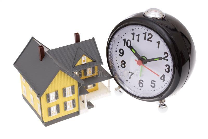 Zeit, ein Haus zu kaufen stockbilder