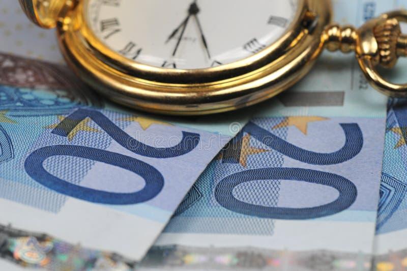 Zeit, etwas Geld zu erwerben lizenzfreies stockfoto