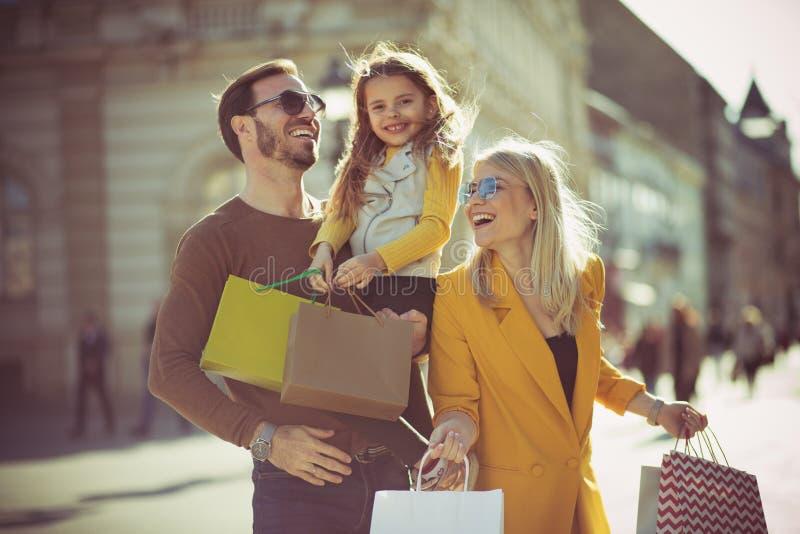 Zeit für ein wunderbares Wochenende und ein Einkaufen lizenzfreies stockbild