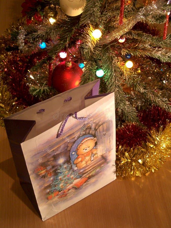 Zeit für Geschenk stockbilder